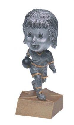 "Bowler (Female) Bobblehead 5.5""-0"