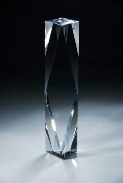 Crystal Beveled Column, L-0