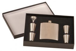 Stainless Steel Flask Set-0