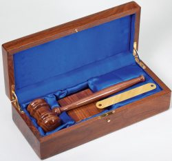 Deluxe Gavel Set-0