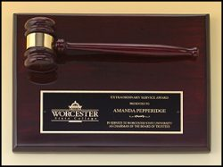 Rosewood Gavel Plaque-0