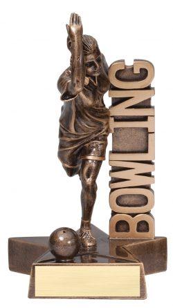"""Bowling (Female) Billboard 8.5"""" -0"""