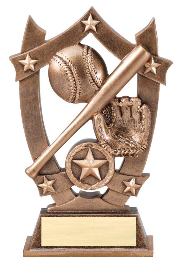 """Baseball Sports Star 6.25""""-0"""