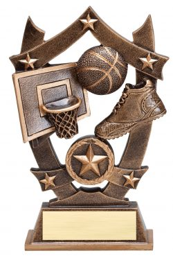 "Basketball Sports Star 6.25""-0"