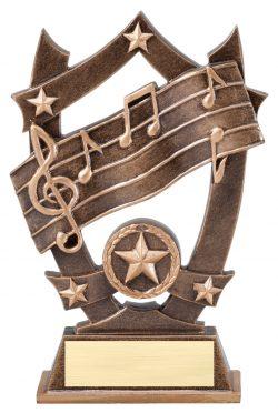 "Music Sports Star 6.25""-0"