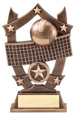 "Volleyball Sports Star 6.25""-0"