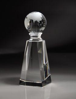 Crystal Pedestal Globe-0