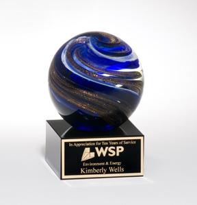 Art Glass Sphere-0
