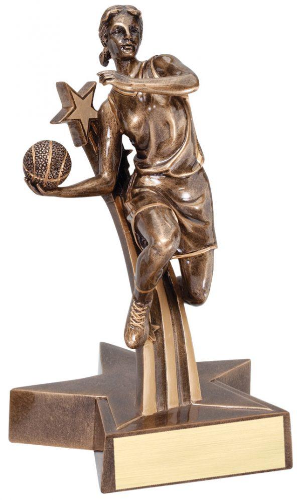 """Basketball (Female) Superstar 8.5"""" -0"""