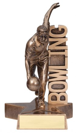"Bowling (Male) Billboard 6.5"" -0"