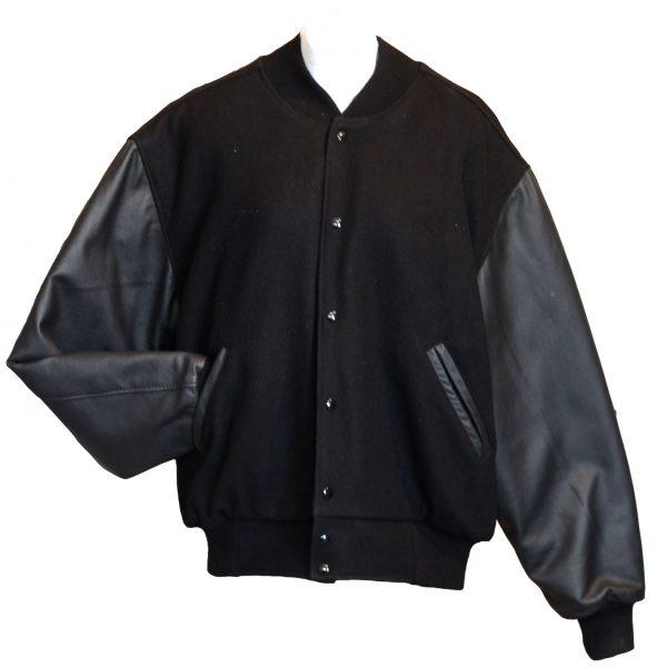 Black Varsity Jacket-0