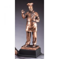 "Chef Resin Sculpture 16""-0"