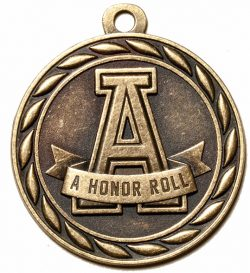 A Honor Roll Medal-0