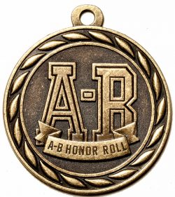 A-B Honor Roll Medal-0
