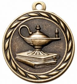 Lamp of Knowledge Medal-0