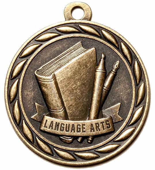Language Arts Medal-0