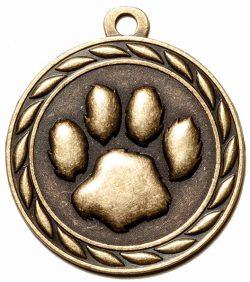 Paw Print Medal-0