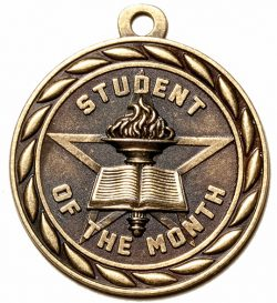 Student of the Month Medal-0