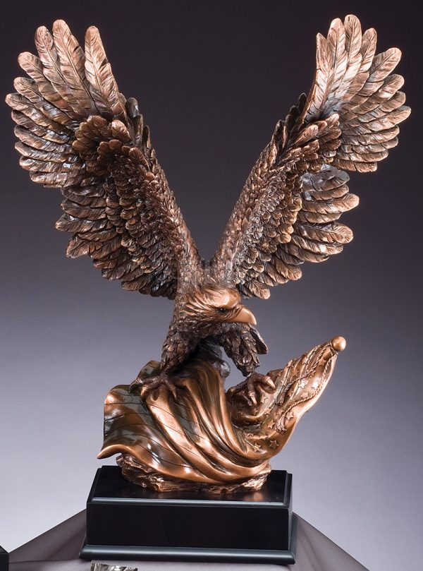 "Bronze Eagle 10""-0"